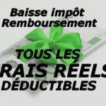 Impôt sur le revenu : les frais réels déductibles