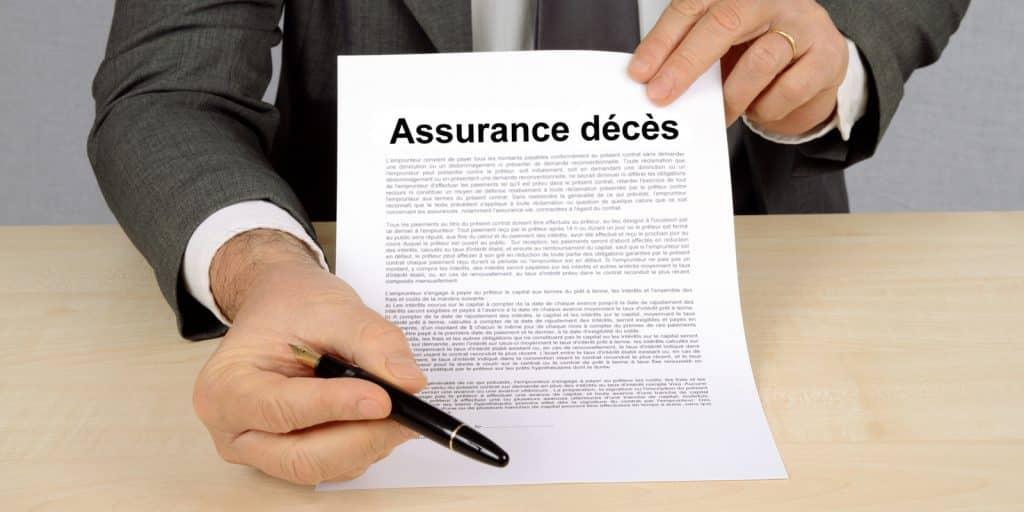 contrat d'assurance décès